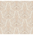 abstract beige floral seamless background vector image