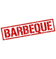 barbeque stamp vector image