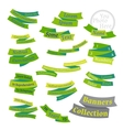 Set of bright labels and ribbons vector image vector image