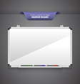 Marker Board vector image vector image