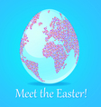 Meet the Easter vector image vector image