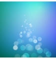 Abstract bokeh sparkles on blurred background vector image