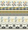 Seamless decorative elements vector image