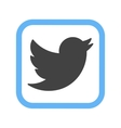 Twitter I vector image