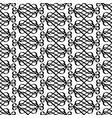decorative linear swirls pattern vector image