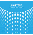 Abstract Blue White Halftone Background vector image vector image