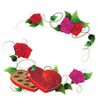 Valentines Day present vector image