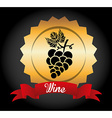 best wine design vector image