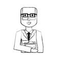 cute doctor cartoon vector image