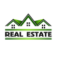 Real Estate Green vector image