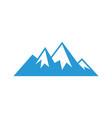 mountain sign logo image image vector image