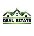 Real Estate Green vector image
