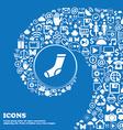 socks icon sign Nice set of beautiful icons vector image