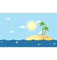 Cartoon islands landscape collection stock vector image