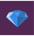 Diamond icon Expensive gift vector image