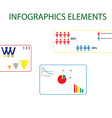 Info elements vector image