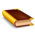 Old book vector image