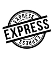 Express rubber stamp vector image