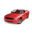 Sports Muscle Car vector image