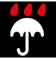 Rain protection icon from Business Bicolor Set vector image