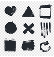 Grungy design elements vector image