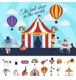 Circus Performance Concept vector image vector image