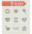 Like icon set vector image