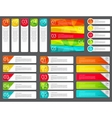 Infographic Design Elements Set for Your Business vector image