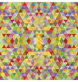 Triangular Mosaic Colorful Background vector image vector image