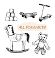 All for babies vector image
