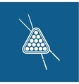 Billiards game vector image