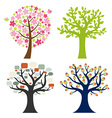 Big Set Tree vector image