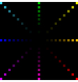 background with colorful lights vector image vector image