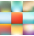 Abstract blurred background design vector image
