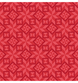 Geometrical seamless pattern in red color scheme vector image