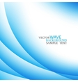 Abstract colorful stylish blue circle wave vector image