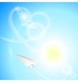 HeartBackground2 vector image
