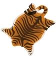 Tiger skin as a carpet vector image