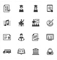 School and Education Icons - Set 2 vector image