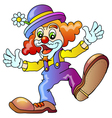 Funny Clown vector image