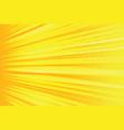 orange rays pop art comic background vector image