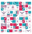 Happy Independence Day - Fourth of July - July 4th vector image