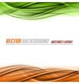 Green Orange vector image
