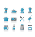 kitchen and household equipment icon vector image vector image