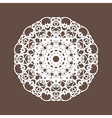 Round Lace vector image