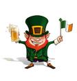 St Patrick Flag vector image