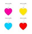 Heart frames vector image