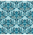 Damask floral seamless ethnic asian pattern vector image