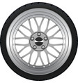 Alloy Wheel vector image