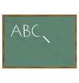 blackboard abc vector image